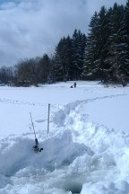 Fishing Duane Lake