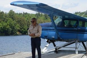 Our pilot, Bob